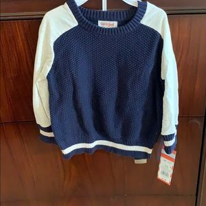 Cat & Jack waffle knit sweater.  New with tags